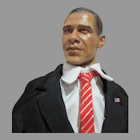 US Presidential Election 2008 Obama Collectible Doll, 1/6 Scale, NRFB