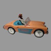 1996 Barbie Clock Radio, Telemania, Austin Healey Car