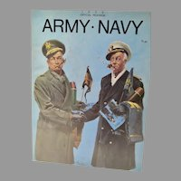 Official 1973 Program Army - Navy Football Game