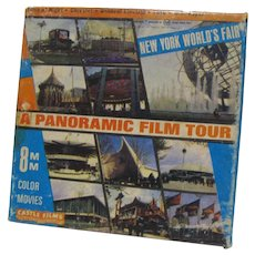 Castle Films 1964 NY World's Fair 8mm Reel Color Film w/Box