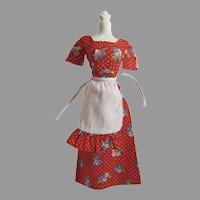 Vintage Mattel Barbie Sweet 16 Outfit, #9558, 1976