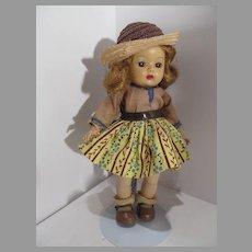 """Vintage 8"""" Muffie Walker, Nancy Ann Storybook 1953"""