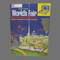 Rare Official New York World's Fair Make A Model Book, 1964-65, Mint, Un-Used!