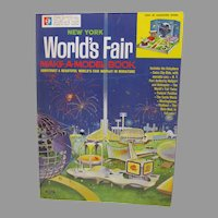 Rare Official New York World's Fair Make A Model Book, 1964-65, Mint, Un-Used!