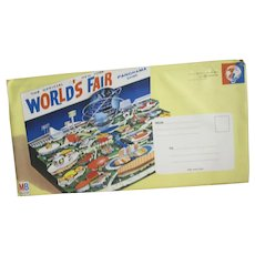 Milton  Bradley Official NY World's Fair Panorama Game, Sealed