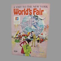 A Visit To The New York World's Fair Children's Book, 1964, Mary Pillsbury