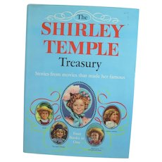 OOP Book, The Shirley Temple Treasury, Stories from her Movies, Random House, 1959