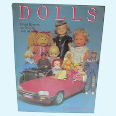 OOP Book, Dolls from Kewpie To Barbie & Beyond, J. Edison