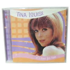 OOP Tina Louise CD, It's Time for Tina, Tainted Records, 1998