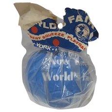 MIP 1964-65 New York World's Fair Squeeze Playball, Sun Toys