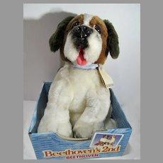 Vintage 1993 Kenner Beethoven's 2nd. Plush Dog, Open Box