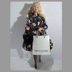 1994 Mattel Nicole Miller Savvy Shopper Barbie