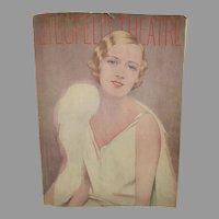 Ziegfeld Theatre Program,  Show Boat, 1929, Marilyn Miller Cover