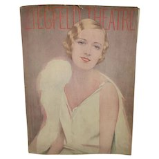 Ziegfeld Theatre Program,  Show Boat, 1929, Marilyn Miller Cover