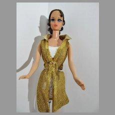 Vintage 1971 Brunette Talking Barbie, Mattel