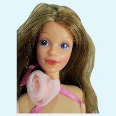 Vintage Mattel Sweet Roses P.J. Doll, 1983