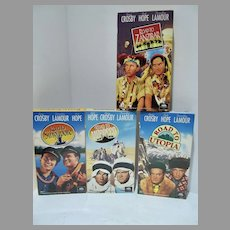 Bob Hope&Bing Crosby Road Movie Collection, VHS