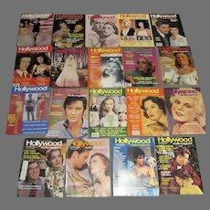 19 Issues of Vintage Hollywood Studio Magazines 1983-1985
