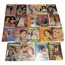 19 Issues of Vintage Hollywood Studio Magazines 1983-1985