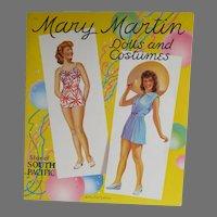 Mint Un-Cut Mary Martin Paper Dolls, 1942 Saalfield Pub.