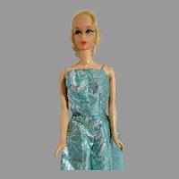 Vintage Mattel 1970 Talking Barbie in Firelights Outfit