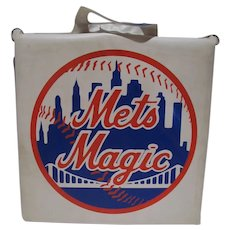 NY Mets Stadium Bleacher Seat/Pad, 1970's
