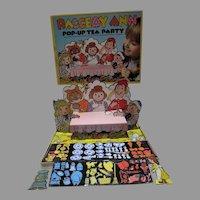Raggedy Ann Pop-Up Tea Party Colorform Set, 1974