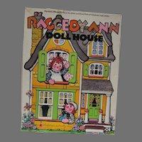 Raggedy Ann Doll House, Colorforms Set, 1974