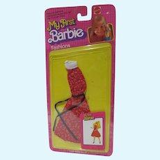 NRFC My First Barbie Fashions #3673, 1981