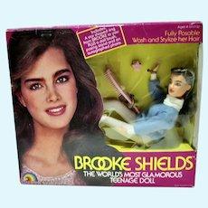 NRFB Brooke Shields Fashion Doll, 1982, Ljn, NY
