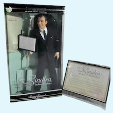 Mattel 1St. in Series, Frank Sinatra-Doll The Recording Years, MIB