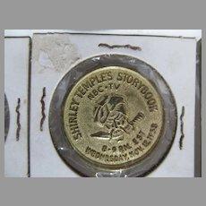 1958 Shirley Temple's Storybook Token Coin, NBC TV, Breck Shampoo