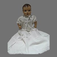 Vintage Composition Baby Doll w/Cloth Body, TLC, 1930's