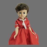 Vintage Vogue Jill Doll in Sailor Dress, 1958