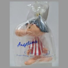 "Rare Paul Campani Angelino 5"" Adv. Animation Mascot Figure, 1964, MIP"