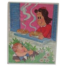 Vintage 1973 Little LuLu & Tubby Puzzle