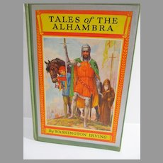 Vintage Children's Book, Tales of The Alhambra, Washington Irving