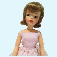 VIntage Ideal Tammy Doll in Afternoon Dress, 1960's
