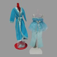VIntage Mattel Barbie Outfit, Satin Slumber, 1971