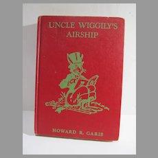 Uncle Wiggily's Airship, Howard Garis, Vintage Book, 1939 Ed.