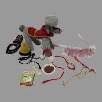 Vintage Mattel Barbie Dog 'n Duds Set, 1964, Complete