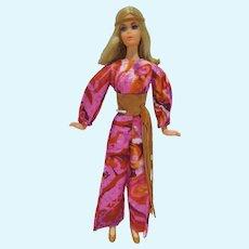 VIntage Mattel Live Action Barbie Doll, 1971