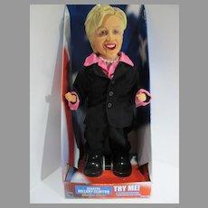 NRFB Senator Hillary Clinton Boogie Dive Dancing Doll