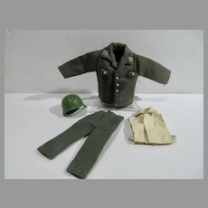 Green Military Army Uniform for 8 Inch Action Figure