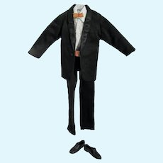 Vintage Ken Clone Doll Tuxedo Outfit, 1960's