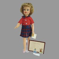 Ideal Pepper Doll in Teacher's Pet Outfit, 1960's