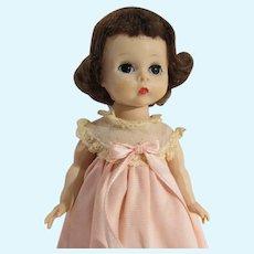 Vintage Madame Alexander-kin Wendy in Pink Nightgown, 1959-60