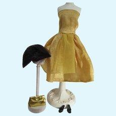 Vintage Fashion Doll Clone Cocktail Dress, 1960's