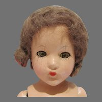 VIntage Composition Effanbee Suzanne Doll, As Is, 1940