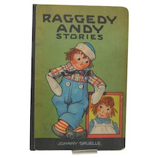 Rare 1St. Edition Raggedy Andy Stories, Johnny Gruelle, 1920
